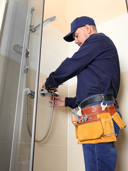 Shower repairs London